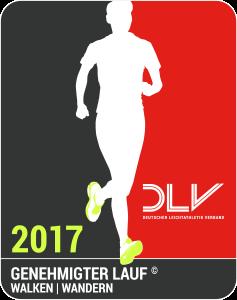 Genehmigter Lauf DLV 2017